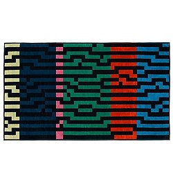 Multicolor Waves Beach Towel