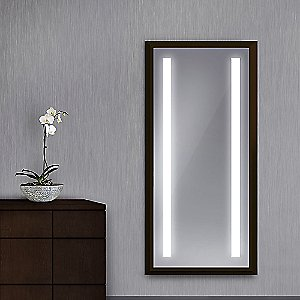 Reflection Lighted Wardrobe Mirror by Electric Mirror