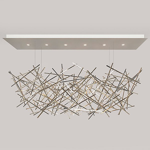 Criss Cross Led Chandelier By Ridgely Studio Rdg686541