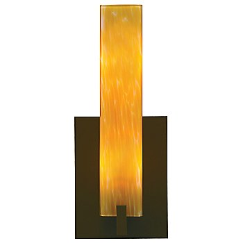 Shown in Amber Frit shade, Antique Bronze finish