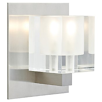 Shown with Frost glass and Satin Nickel finish