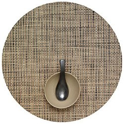 Basketweave Round Placemat