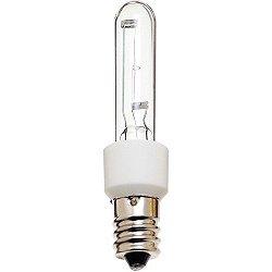 60W 120V T3 E12 Xenon Clear Bulb