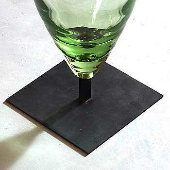 Shown in Transparent Green glass