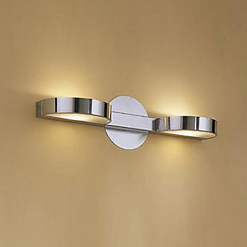 Shown in Polished Chrome, 2 Light