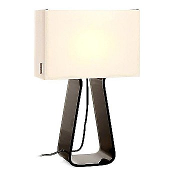 White and Charcoal finish / Medium Size