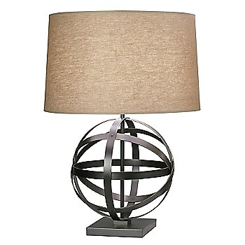 Shown in Deep Patina Bronze with Driftwood Linen shade
