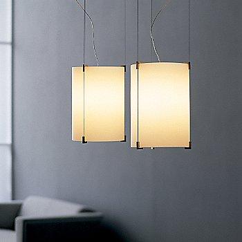 Shown in White glass