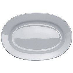 AJM28/22 - PlateBowlCup Oval Serving Plate