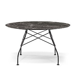 Glossy Table with Polyester Top