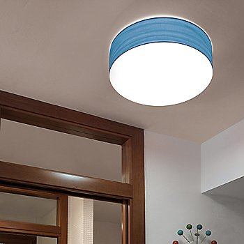Gea Wall/Ceiling Light, in use