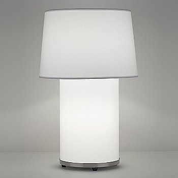 Shown with White Linen shade (illuminated)