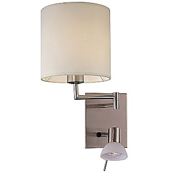 Shown in Brushed Nickel, White