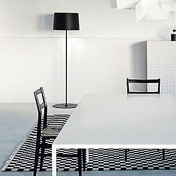 Black color, in use in dining room