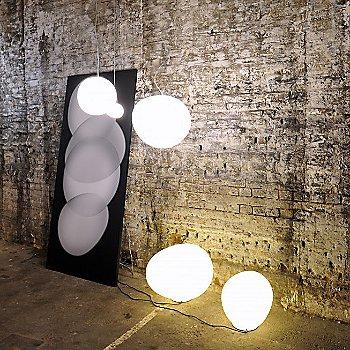 White shade / collection / illuminated