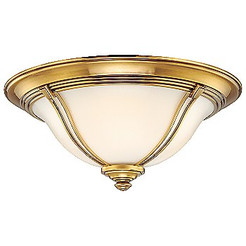 Shown in Flemish Brass finish, Large size