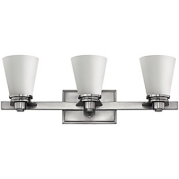 Shown in Brushed Nickel with Etched Opal finish, 2 Light