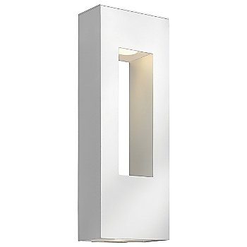 Shown in Satin White with Etched Glass