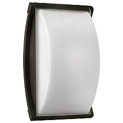 Atlantis Etched Glass Outdoor Wall Light