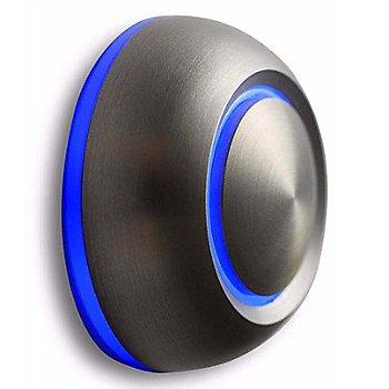 Brushed Aluminum finish / Blue