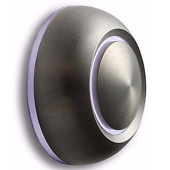 Brushed Aluminum finish / White