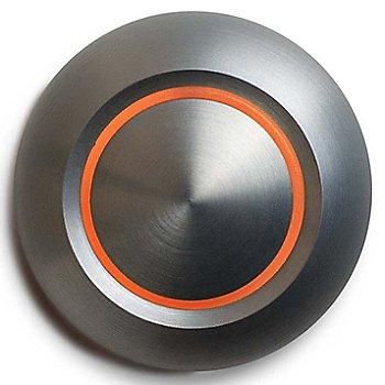 Brushed Aluminum finish / Amber