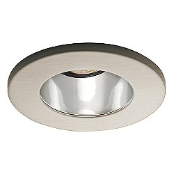 3-Inch Open Reflector Trim (Clear Baffle with Brushed Nickel Trim) - OPEN BOX RETURN