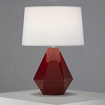 Shown in Oxblood color