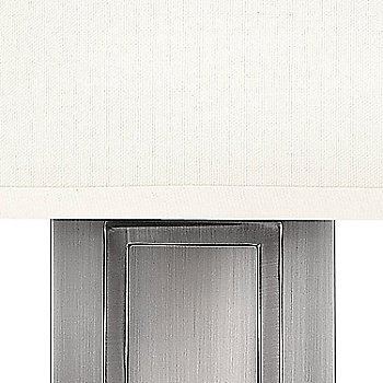 Shown in Antique Nickel finish