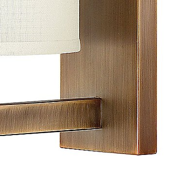 Shown in Brushed Bronze finish