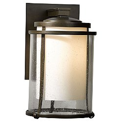 Meridian Small Outdoor Wall Sconce (Black/Large/Incan) - OPEN BOX