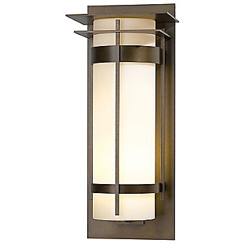 Shown in Bronze finish with Opal shade