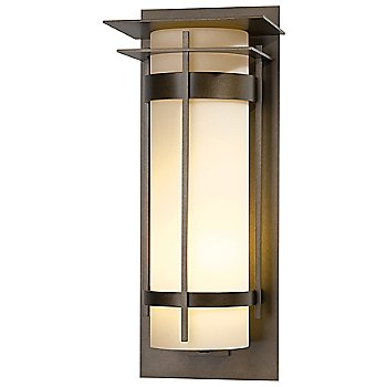Shown in Bronze finish with Pearl shade