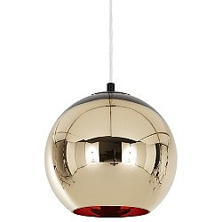 Bronze Copper Shade Pendant Light
