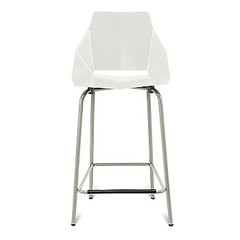 Ivory/Grey/ Counterstool / 35.5-Inch
