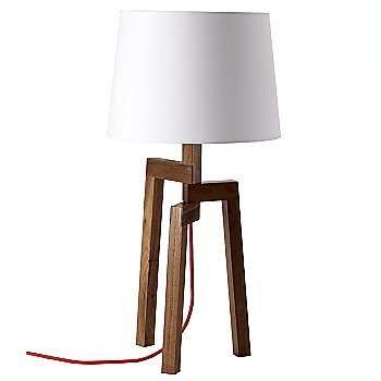 Shown in White and Walnut