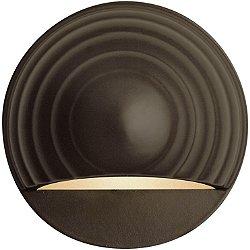 Round Eyebrow Deck Sconce