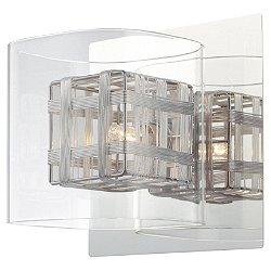 Jewel Box 1 Light Bath Wall Light