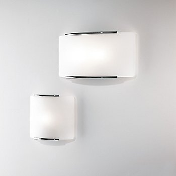 Shown in Polished Chrome pictured with Mercury 1 Wall Sconce