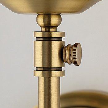 Aged Brass finish