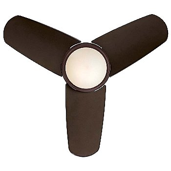 Oil Rubbed Bronze with Oil Rubbed Bronze Blades and Tinted Opal Fan Body and Blade Finish