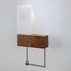 Cubo LED Bedside Sconce and Reading Light