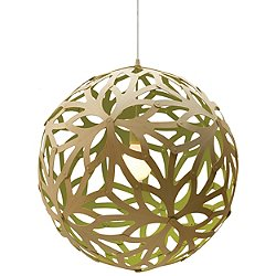 Floral Pendant Light