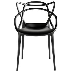 Masters Chair by Kartell (Black) - OPEN BOX RETURN