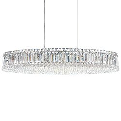 Plaza Oval Suspension Light