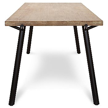Shown in Weathered Oak with Black Legs