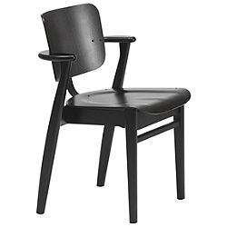 Domus Chair (Black Stained) - OPEN BOX RETURN