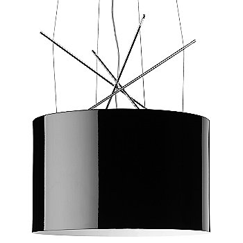 Shown in Black Painted shade