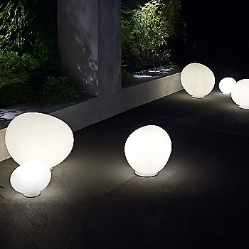 Outdoor Gregg Floor Lamp / collection / in use