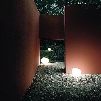 Outdoor Gregg Floor Lamp / in use
